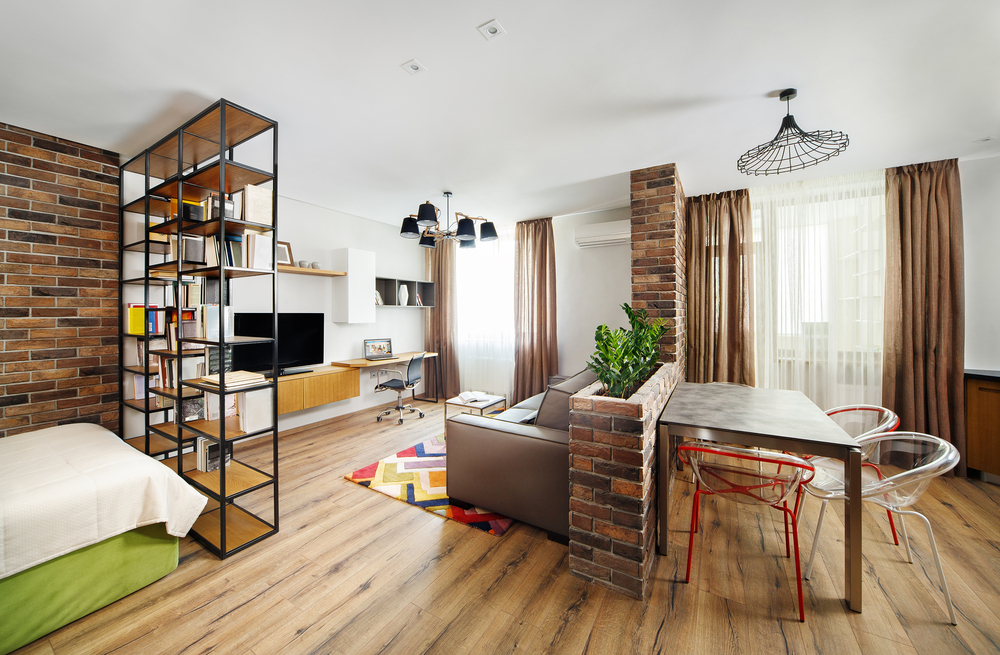 Divide a Studio Apartment into Multiple Rooms